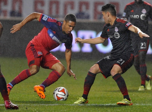 Toronto FC ties with Chicago Fire
