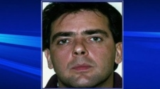 Raynald Desjardins, seen here, was arrested for the murder of Salvatore Montagna, a mob boss killed near Montreal in November.