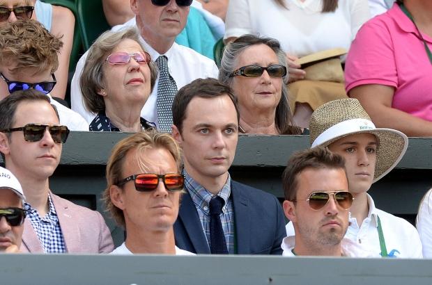 Jim Parsons at Wimbledon