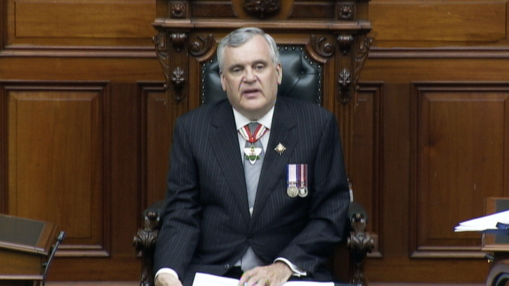 Throne speech promises big spending