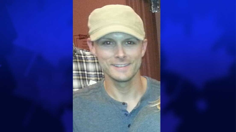 Skylar Groves, 32, is seen in this image released by the London Police Service.