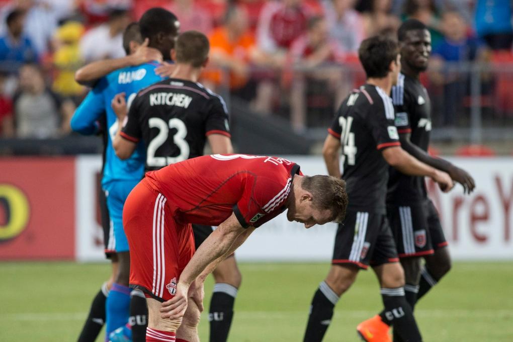 Toronto FC loses to D.C. United