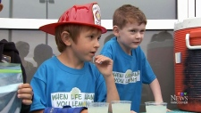 CTV Vancouver:Boy sells lemonade for sick friend