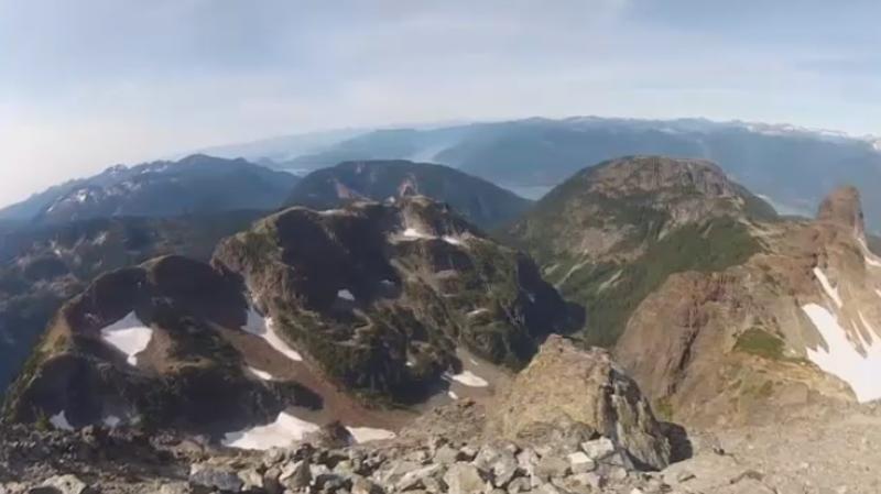 sky pilot mountain