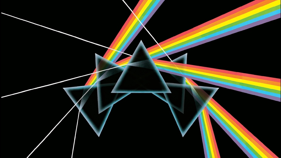 In this box set cover image released by Capitol Records, Pink Floyd's, 'The Dark Side of the Moon Immersion,' is shown. (AP / Capitol Records)