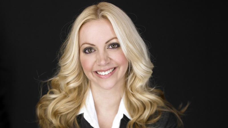 Toronto therapist and relationships expert Kimberly Moffit is shown in a recent handout photo. THE CANADIAN PRESS/HO-David Leyes