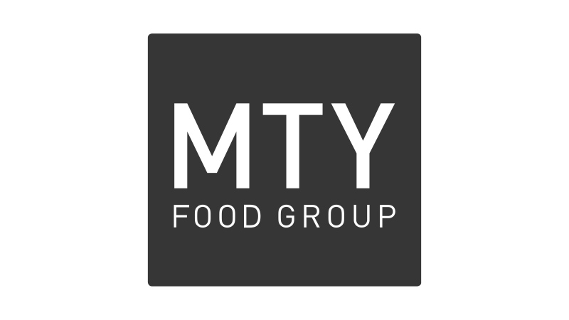 The corporate logo of MTY Food Group Inc. is shown. (THE CANADIAN PRESS/Handout)