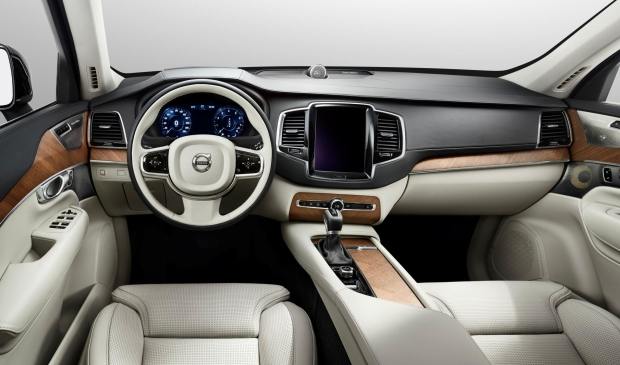 Volvo XC90 to be displayed at Paris Motor Show