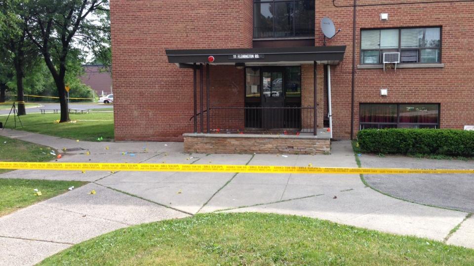Teacher killed in North York shooting