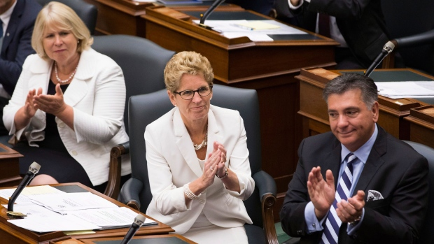 Wynne says she'll raise $3B from asset sales