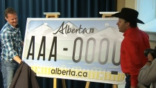 CTV Edmonton: New licence plate designs unveiled