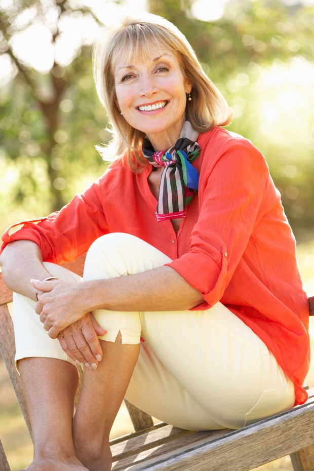how to lose menopause middle