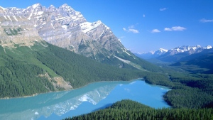 A view of Peyto Lake in Banff National Park is shown in this undated handout. (Travel Alberta)