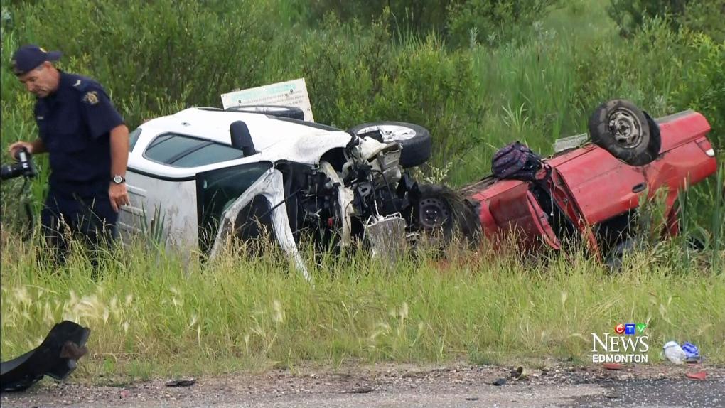 CTV Edmonton: Fatal crash near Stony Plain   CTV News