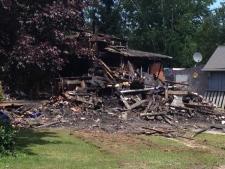 Farmhouse fire near Owen Sound