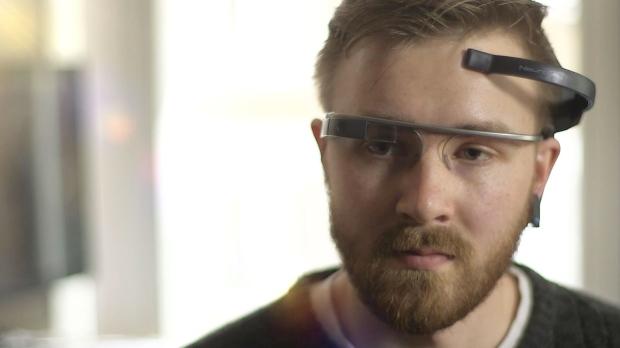 MindRDR app on Google Glass