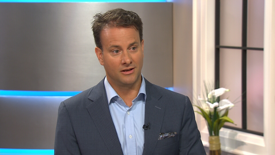 Physiologist Greg Wells appears on Canada AM, Friday, July 11, 2014.