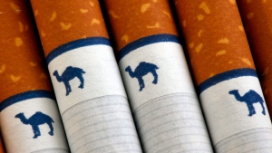 Camel cigarettes, a Reynolds American brand, are seen in Philadelphia on Oct. 21, 2009. (AP / Matt Rourke)