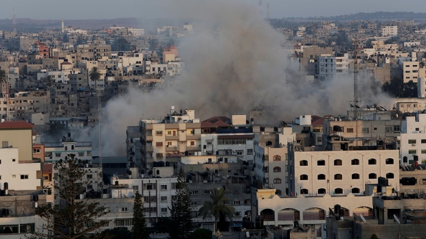 Israeli strike on Gaza Strip