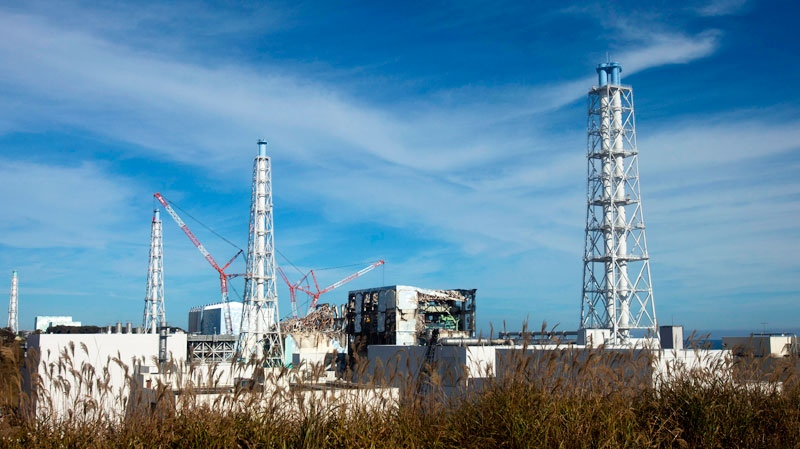 The crippled Fukushima Dai-ichi nuclear power plant in Okuma, Japan, is seen on Nov. 12, 2011. (AP / David Guttenfelder, Pool)