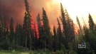 CTV Edmonton: Wildfire near Rocky Mountain House