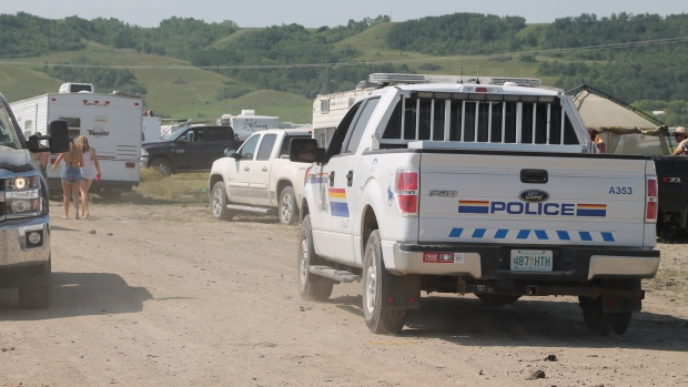 RCMP at Craven