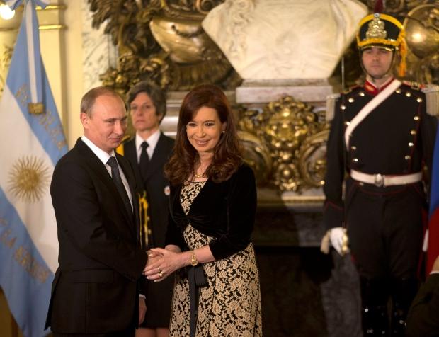 Putin in Argentina
