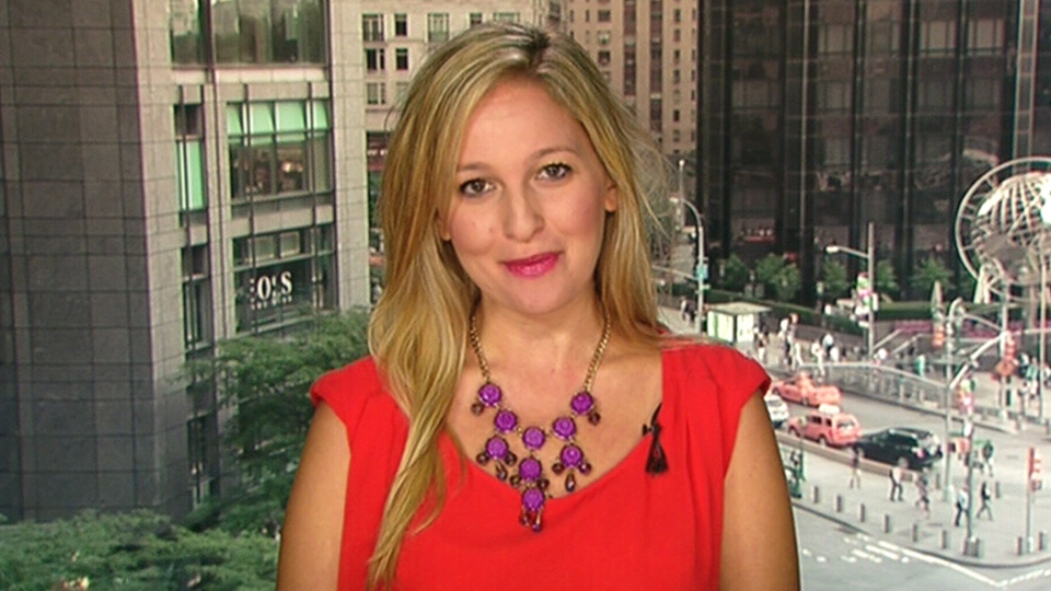 Professional bridesmaid Jen Glantz speaks to CTV's Canada AM from New York on Monday, July 14, 2014.