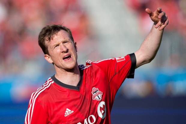 Toronto FC's Caldwell suffers quad injury