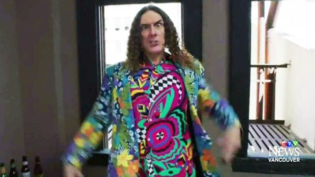 CTV Vancouver: Weird Al parodies Pharrell hit