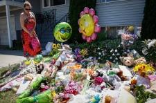Missing Calgary family memorial