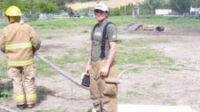 Volunteer firefighter Dan Botkin, 29, was killed fighting a blaze in Enderby, B.C.