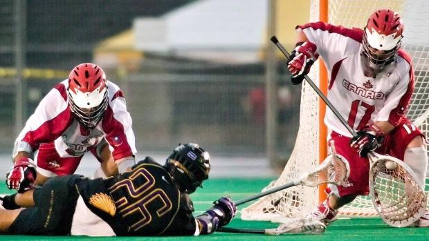 Canada beats Australia at lacrosse championship