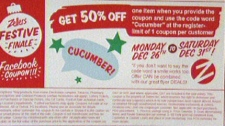 Zellers coupon