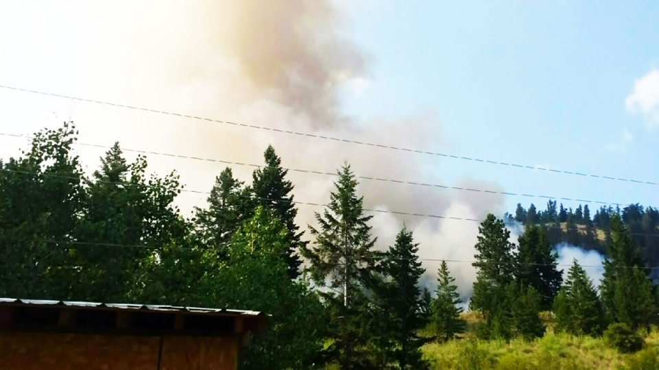 Scorching temperatures and dry conditions has led to over 100 wildfires in B.C. prompting evacuation orders.