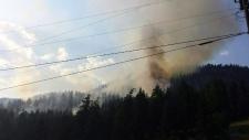 Wildfires prompt evacuations in B.C., Alberta