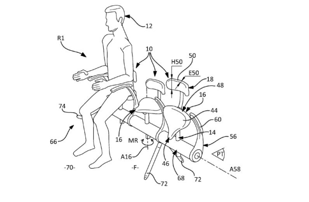 Airbus files patent for new bicycle-like seats