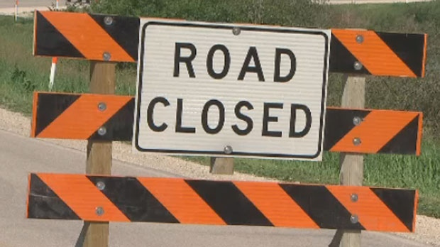 Pembina Highway closed
