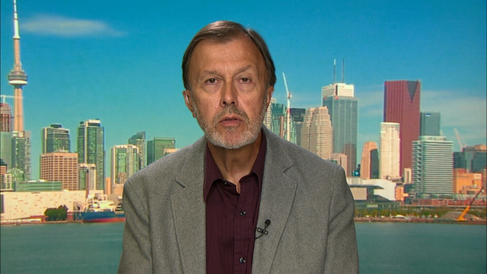 Nigel Rawson appears on Canada AM, Thursday, July 17, 2014.