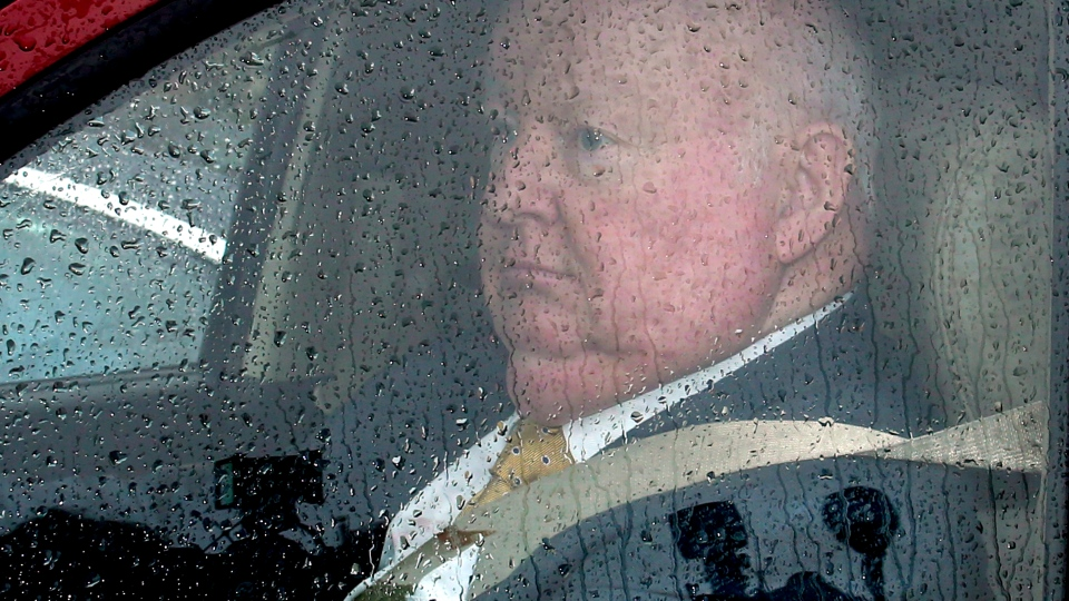 Suspended Sen. Mike Duffy leaves Parliament Hill, in Ottawa, Thursday June 6, 2013. The RCMP has decided to file charges against Mike Duffy, according to a statement issued by the suspended senator's lawyer late Wednesday. (Fred Chartrand / THE CANADIAN PRESS)