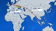 Malaysia Airlines flight crashes in Ukraine