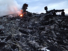 Malaysia Airlines plane shot down in Ukraine
