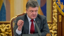 Ukrainian President comments in Kyiv