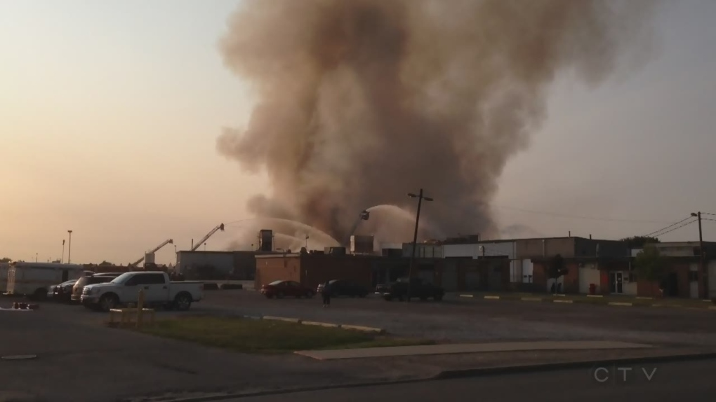 CTV Windsor: Bonduelle blaze