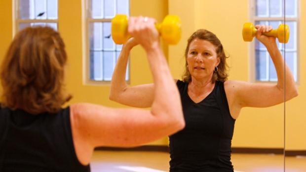 exercise; gym