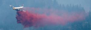Wildfire in West Kelowna, B.C.