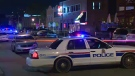Edmonton police were called out to a shooting incident at 104 Street and 81 Avenue Sunday morning.