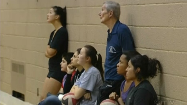 After retiring as an engineer, Ants Toke turned to volleyball fulltime. (CTV Montreal)