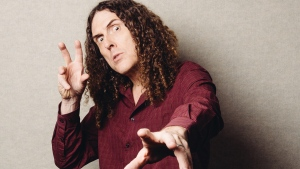 'Weird Al' Yankovic poses for a portrait in Los Angeles on July 17, 2014. (Casey Curry / Invision / AP)