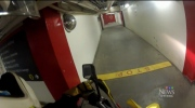 A high-speed motorcycle stunt has Carleton University reviewing its security inside the tunnels.